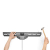 "Fixed Nail-On-Drywall Low-Profile TV Hangar Mount for 37"" - 80"" TVs"