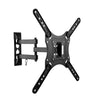 "Full-Motion X-frame Black Wall Mount for 23"" - 55"" TVs"