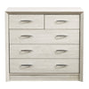 5 Drawer Dresser with Metal Handles