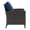 Parkview Wide Rattan Wicker Patio Chair