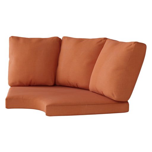 Replacement Back & Seat Round Corner Sectional Cushions 4pc
