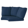 Replacement Back & Seat Round Corner Sectional Cushions 4pc *Final Sale*