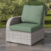 Brisbane Weather Resistant Resin Wicker Left Arm Patio Chair
