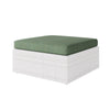 1pc Olefin Fabric Replacement Ottoman Cushion