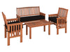 Wood Patio Set