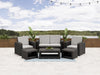 Adelaide All-Weather Patio Set 6pc