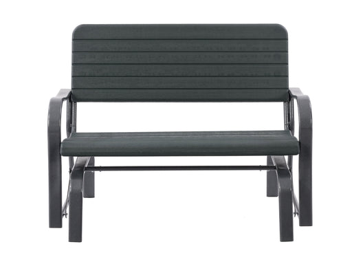 Lake Front Patio Gliding Bench