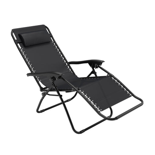 Riverside Textured Zero Gravity Patio Lounger - *CLEARANCE*