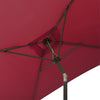 Square Tilting Patio Umbrella