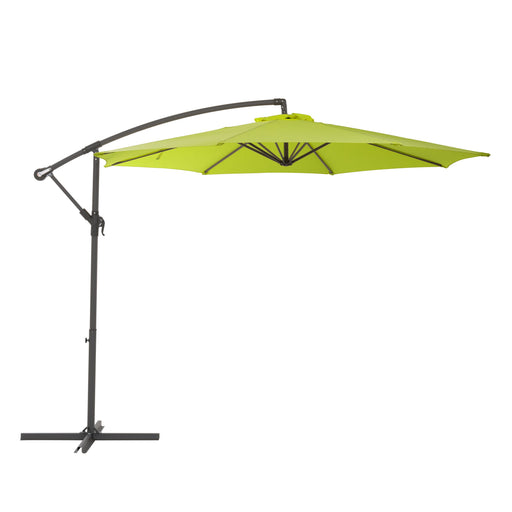 UV Resistant Offset Tilting Patio Umbrella *SHIPS by 5/21/21*