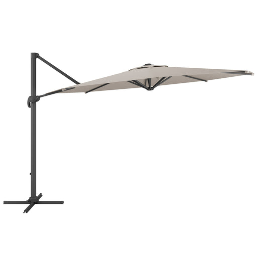 UV Resistant Deluxe Offset Patio Umbrella *SHIPS by 6/7/21*