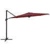 UV Resistant Deluxe Offset Patio Umbrella with Base