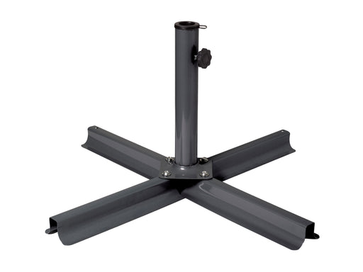 Grey/Black Patio Umbrella Stand