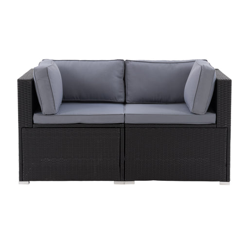 Parksville Patio Sectional Set 2pc - *SHIPS By 4/17/2021*