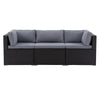 Parksville Patio Sectional Set 3pc