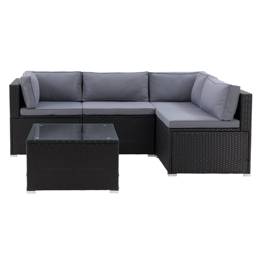 Parksville Patio Sectional Set 5pc - *SHIPS By 4/17/21*