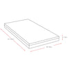 "6"" Twin/Single Memory Foam Mattress - *CLEARANCE*"
