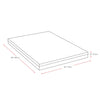 "Deluxe 10"" Queen Memory Foam Mattress"