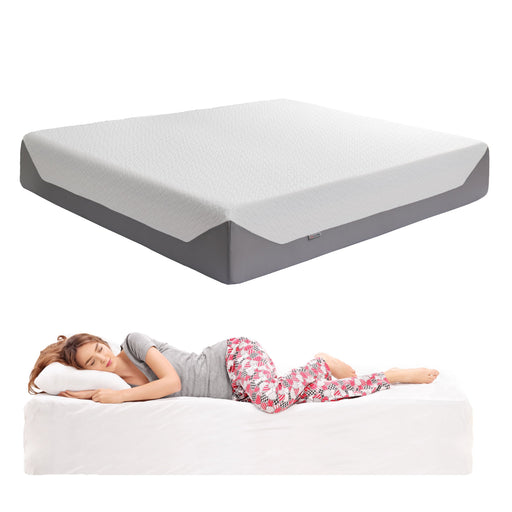 "14"" King Medium Firm Memory Foam Mattress"
