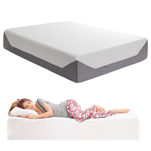 "14"" Queen Medium Firm Memory Foam Mattress"