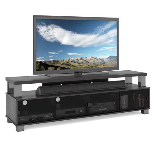 Bromley Wooden TV Stand, for TVs up to 80""