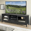 Jackson Wooden TV Stand, for TVs up to 85""