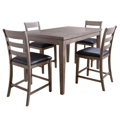 New York Counter Height Dining Set, 5pc