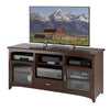 Carson Dark Espresso Wooden TV Bench, for TVs up to 70""