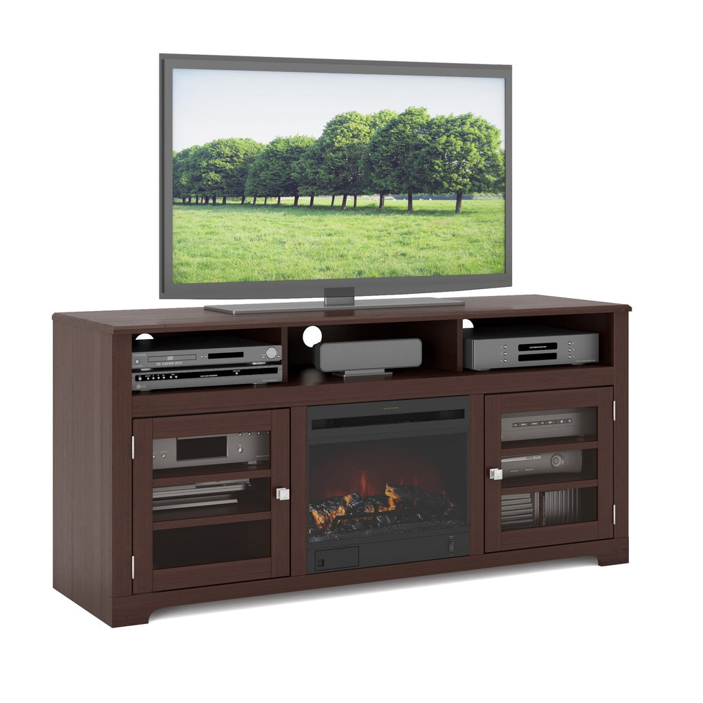"West Lake Fireplace TV Stand, for TVs up to 68"" - *CLEARANCE*"