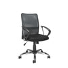Office Chair with Contoured Mesh Back