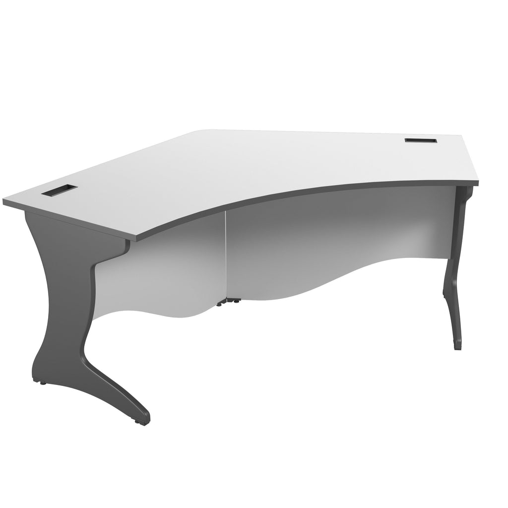 Workspace Curved Corner Desk - *CLEARANCE*