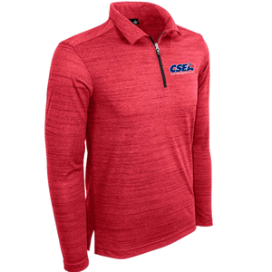 Men's Long Sleeve 1/4 Zip Polo