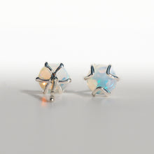 Load image into Gallery viewer, Fiore post earrings sterling silver Opal Hannah Daye & Co