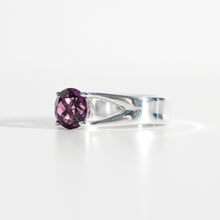 Load image into Gallery viewer, Amethyst Brillante Sterling Silver Ring Hannah Daye & Co
