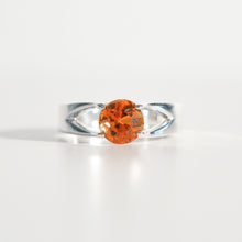Load image into Gallery viewer, Citrine Brillante Sterling Silver Ring Hannah Daye & Co