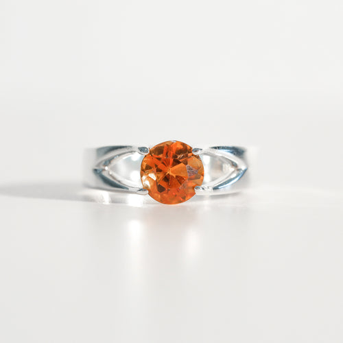 Citrine Brillante Sterling Silver Ring Hannah Daye & Co