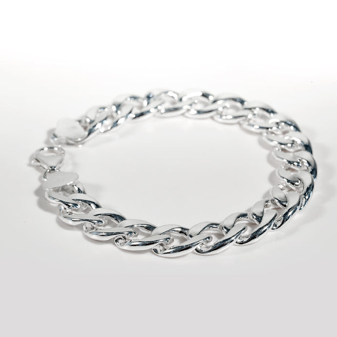 Curb Bracelet Bordillo Sterling Silver Hannah Daye & Co