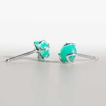 Load image into Gallery viewer, Fiore Earrings in Mint Chrysoprase in Sterling Silver Hannah Daye & Co