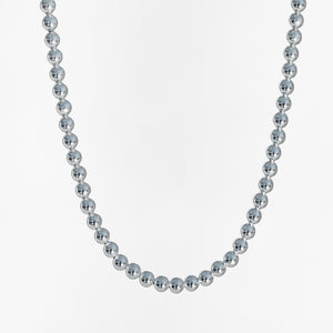 Bead Necklace in Sterling Silver Hannah Daye & Co