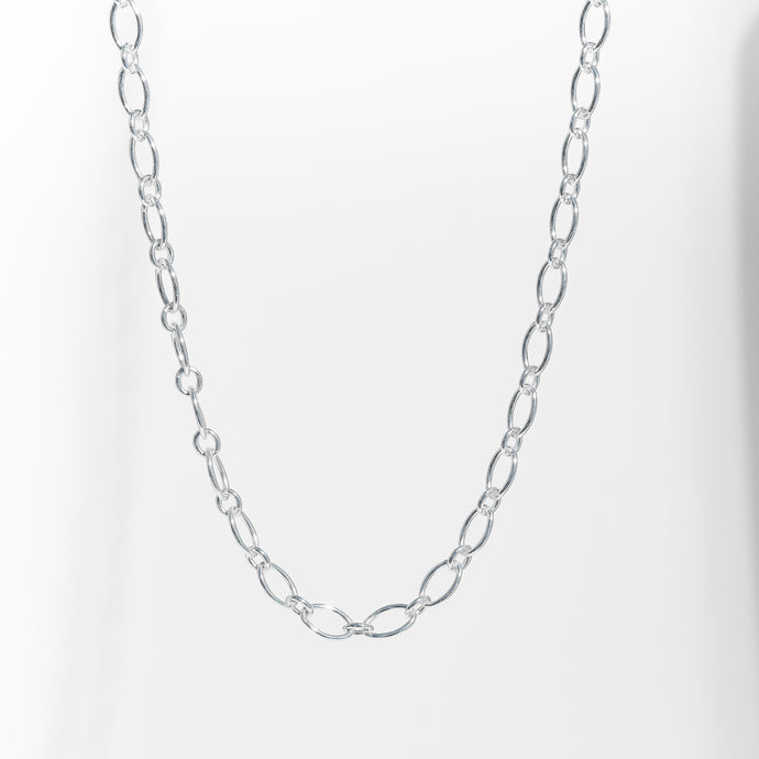 Cascade Necklace links in Sterling Silver Hannah Daye & Co