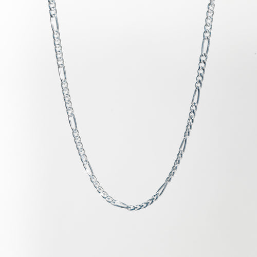 Figaro Necklace chain in Sterling Silver Hannah Daye & Co