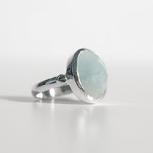 Load image into Gallery viewer, Sabine Ring Aquamarine in sterling silver Hannah Daye & Co