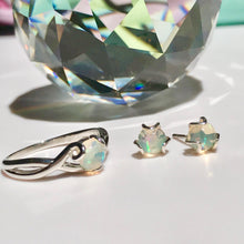 Load image into Gallery viewer, Fiore RIng and Stud Earrings Opal Sterling Silver Hannah Daye & Co