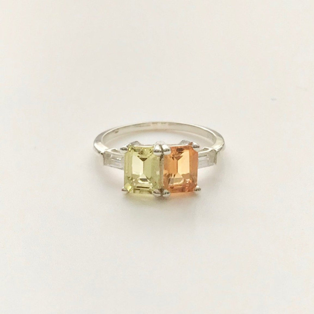 Lexington Ring Sterling Silver Citrine Hannah Daye & Company