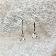 Load image into Gallery viewer, Fiore Gemstone Opal Earrings drop 14k gold Hannah Daye & Company