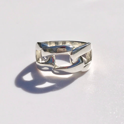 Sterling Silver Band Bordillo Ring Hannah Daye & Company