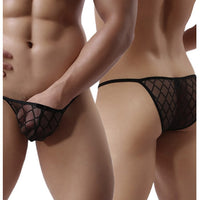 Sexy Mens Diamond Design Panty