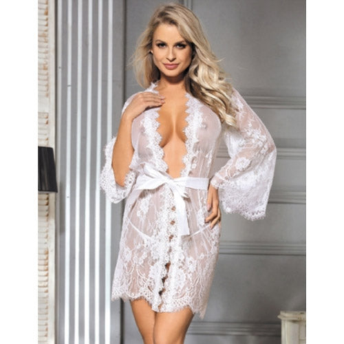 Lace Sleepwear Gown