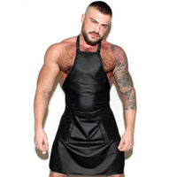 Mens Open Front Apron