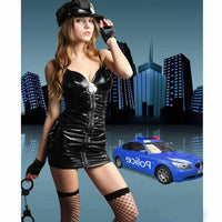 PVC Police Cosplay Costume